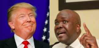 Donald Trump & Jacob Juma