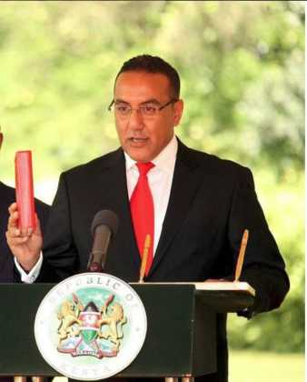 Najib balala 338x420 - Beauty and brains! Meet the beautiful and supportive women behind Kenyan politicians