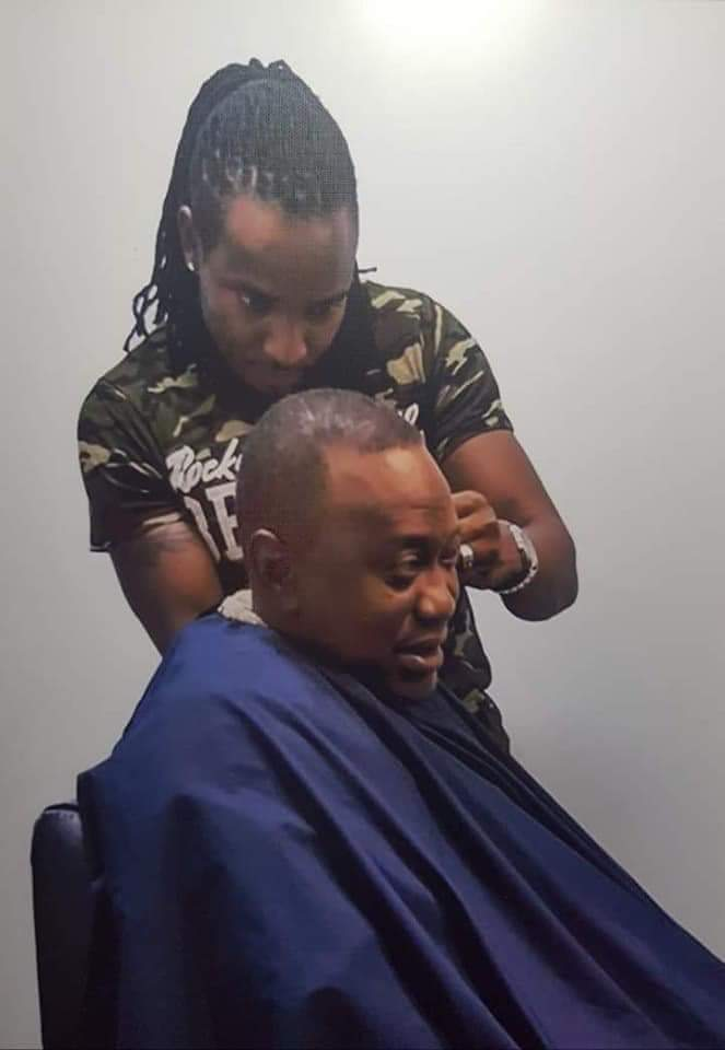 WhatsApp Image 2019 06 10 at 5.43.09 PM - Meet Uhuru Kenyatta, Sonko and Joho's hype barbers