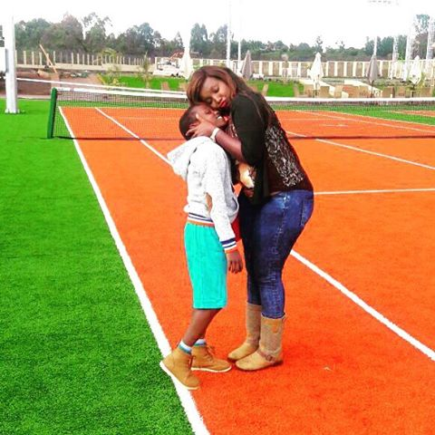 celina son - How my son motivated me to move out of bedsitter – Kate Actress