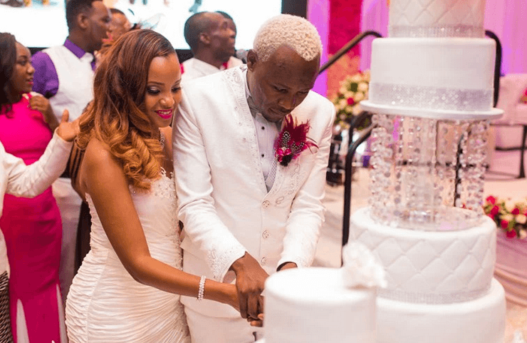 MAPENZI INAWEZA BOSS This Never Seen Before Photos Of Daddy Owens Wedding With Sexy Wife