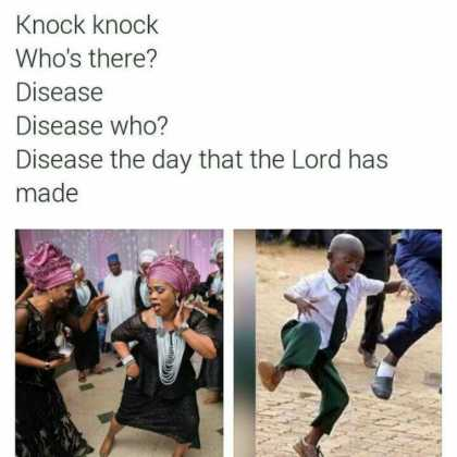 15873231 1800945256823916 9072513022109115411 n 420x420 - These Knock Knock Jokes About Kenyan Songs Will Kill You!