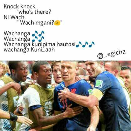 15965157 1800945210157254 5246142297691273571 n 420x420 - These Knock Knock Jokes About Kenyan Songs Will Kill You!
