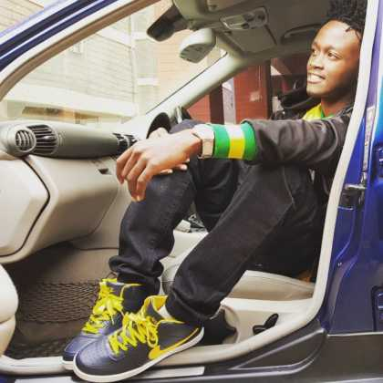 Bahati car 420x420 - 23 Entertainers who are not afraid to show off their rides