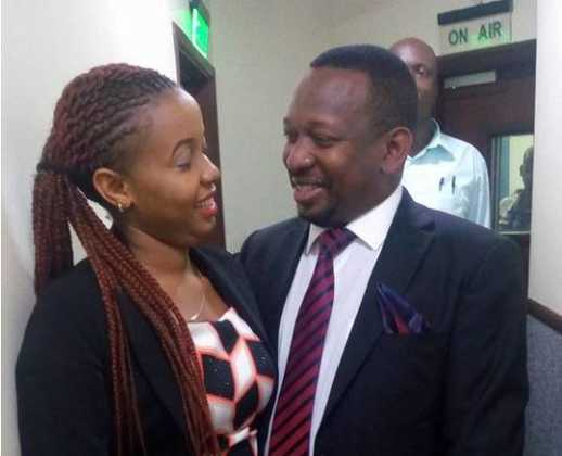 Mike Sonko fisis on a woman 518x420 - Rare Photo Of Mike Sonko When He Was POOR And Dusty Excites Netizens
