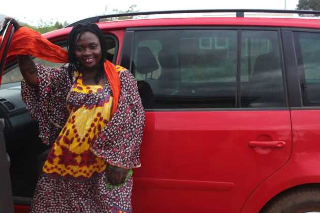Nyota ndogo1 630x420 - 23 Entertainers who are not afraid to show off their rides