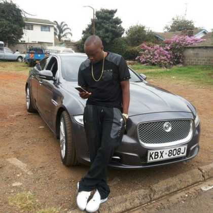 jaguar cra 420x420 - 23 Entertainers who are not afraid to show off their rides