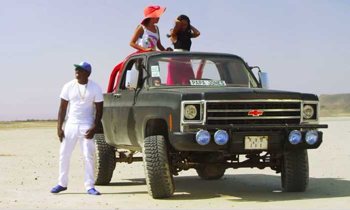 khaligraph car 7 699x420 - 23 Entertainers who are not afraid to show off their rides