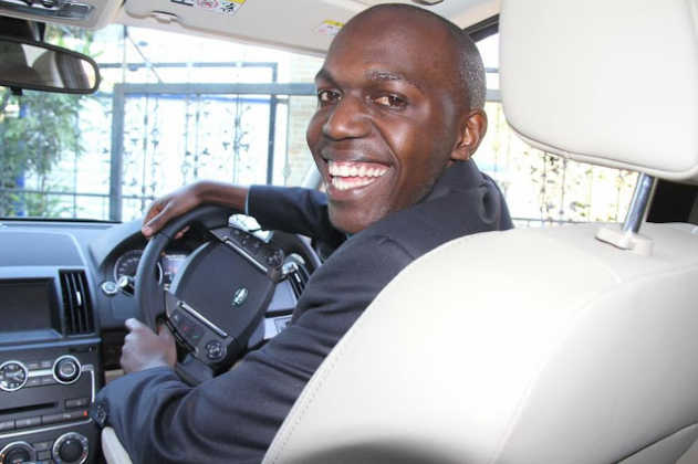 larry madowo car1 631x420 - 23 Entertainers who are not afraid to show off their rides