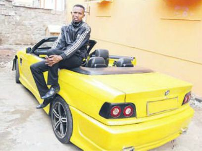 mohammed ali car1 - 23 Entertainers who are not afraid to show off their rides