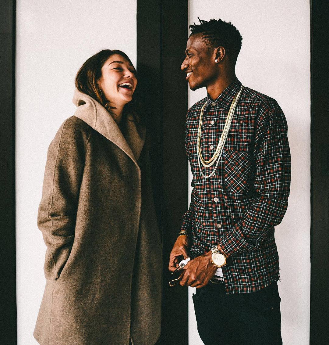 Octopizzo and fiancee