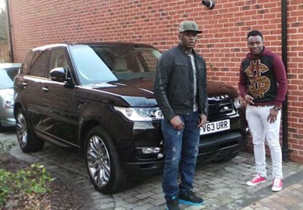 victor wanyama1 606x420 - 23 Entertainers who are not afraid to show off their rides