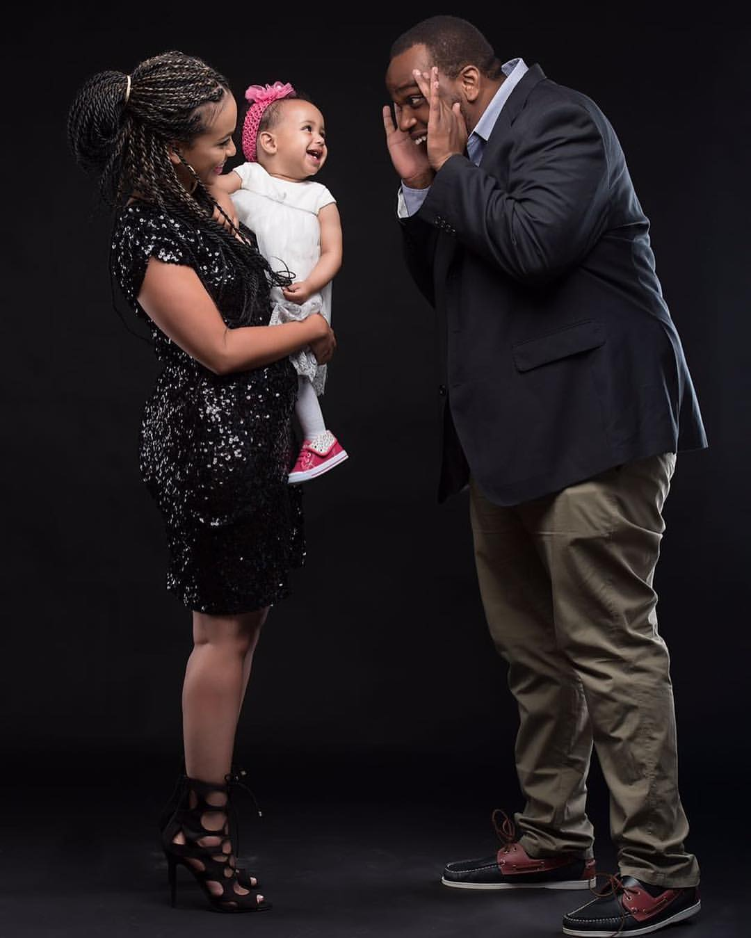 Madtraxx, wife and daughter