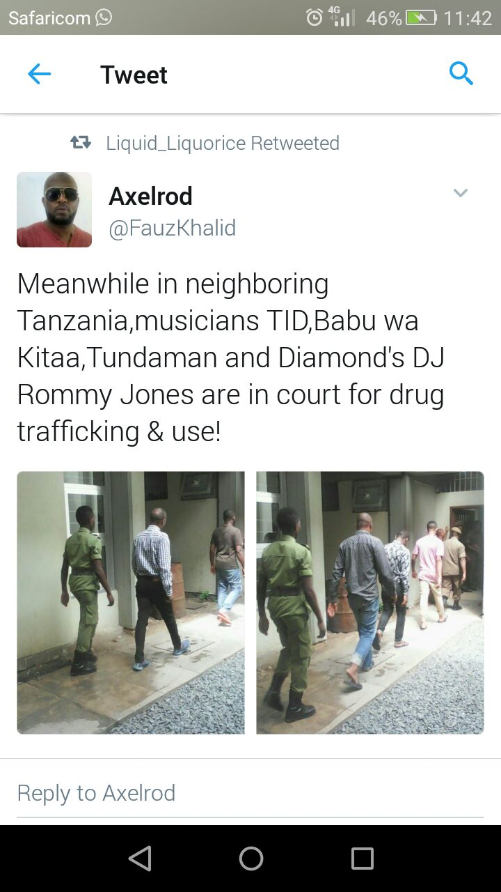 Diamond brother arrested