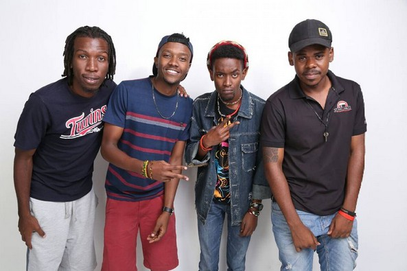members of a popular kenyan band mourn the death of a loved one