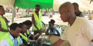 Voter Registration At IEBC Centres