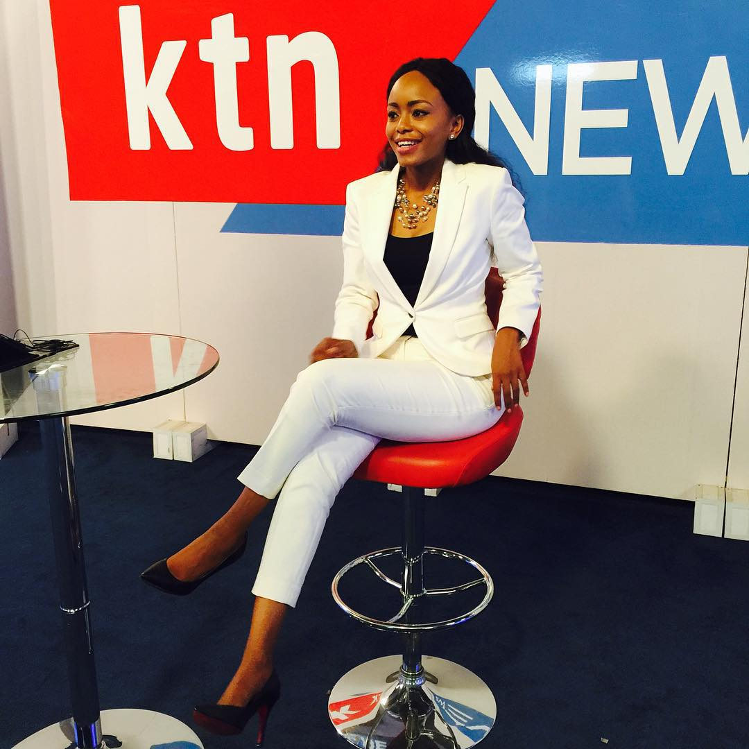 Wololo  Sexy Ktn Anchor Caught On Camera Wiggling Her