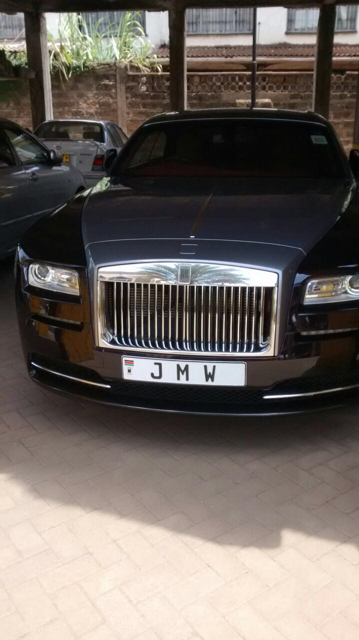 Maina Wanjigi car - Check out the machines your favourite celebrities drive