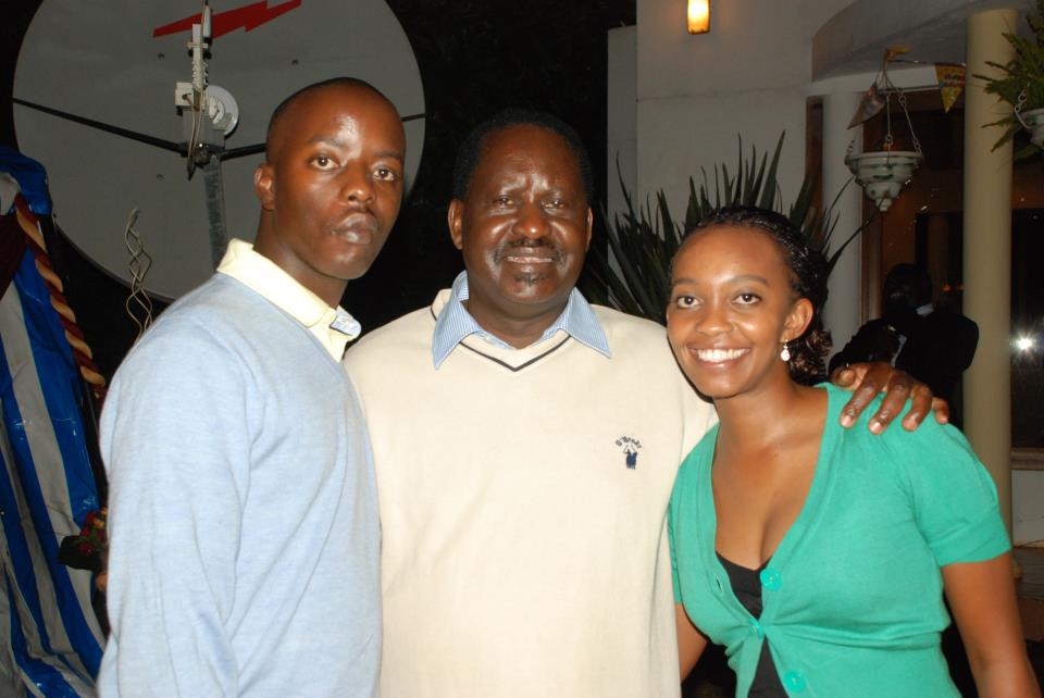 Raila odinga junior - Raila Jnr: I saw my dad for the first time when I was 10