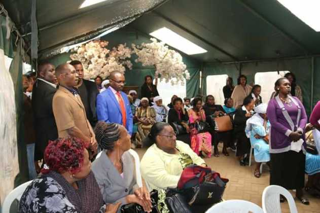 Bishop Pius Muiru's Mother Finally Laid To Rest After ...