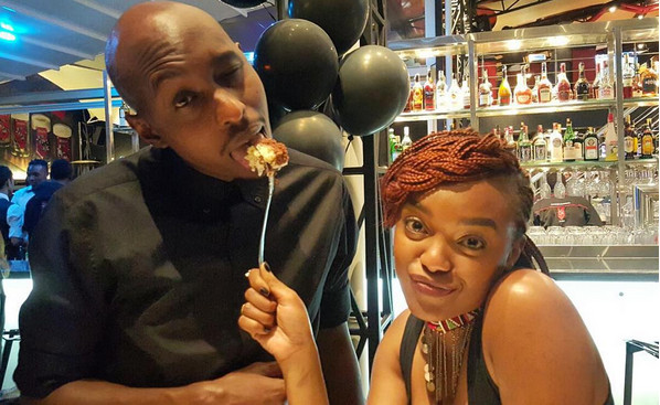 Edith.and .Timothy - 'The love of my life,' Edith Kimani gushes about Fena Gitu