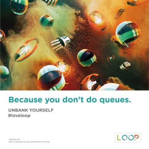 Because you don't do queues. #UnbankYourself #LoveLoop
