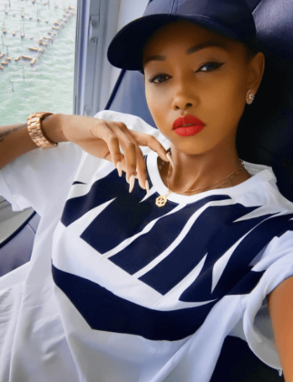 huddah nails 323x420 - Photos Of Your Favorite Kenyan Socialites Before The Fame And Money