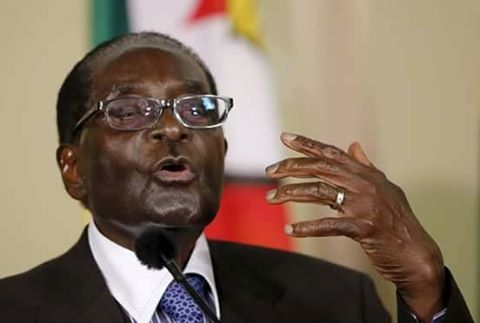 18425365 1446662345391990 1569353486555250083 n - Lala salama! Here's the last photo of Robert Mugabe before he died