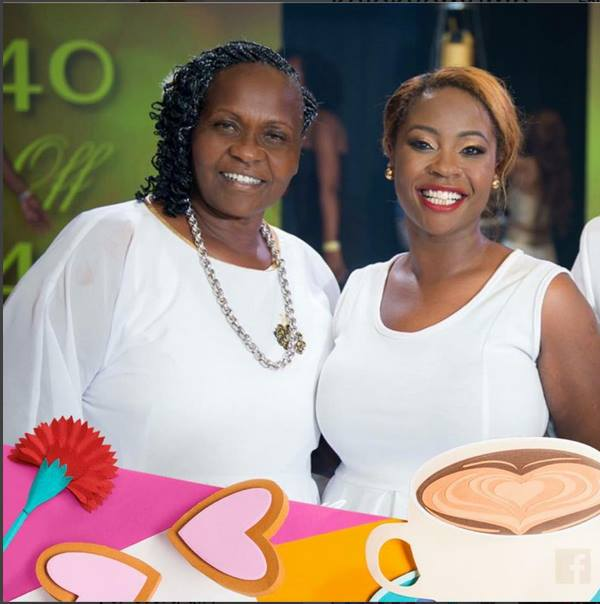 Kalekye Mumo and her Mother