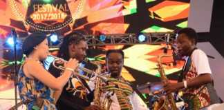 Gogosimo At The Safaricom Jazz Event