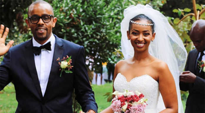 SARAH 696x877 696x385 - Celebrities With The Most Stunning Bridal Party Lineup Ever (PHOTOS)