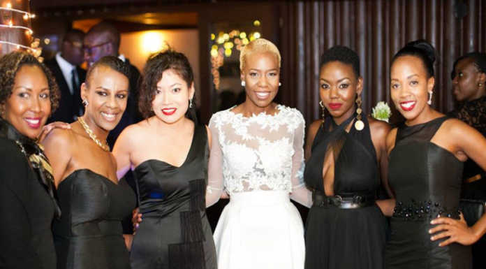 anabel onyango 696x385 - Celebrities With The Most Stunning Bridal Party Lineup Ever (PHOTOS)