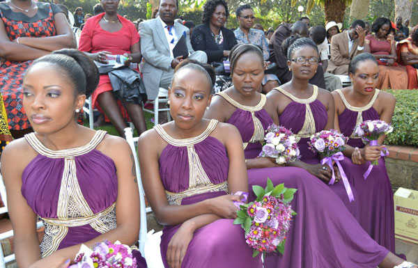 emmy kosgei 2 600x385 - Celebrities With The Most Stunning Bridal Party Lineup Ever (PHOTOS)