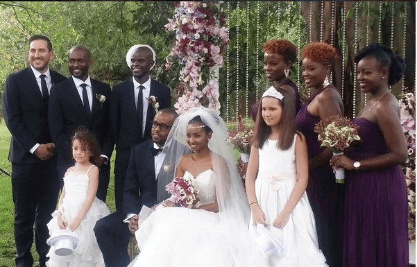 sara hassan 1111 601x385 - Celebrities With The Most Stunning Bridal Party Lineup Ever (PHOTOS)