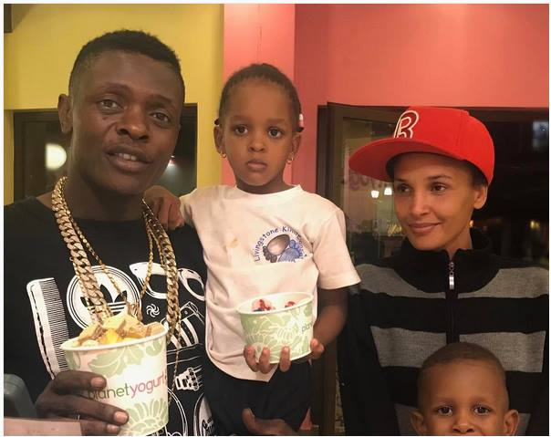Jose Chameleone and wife Daniella