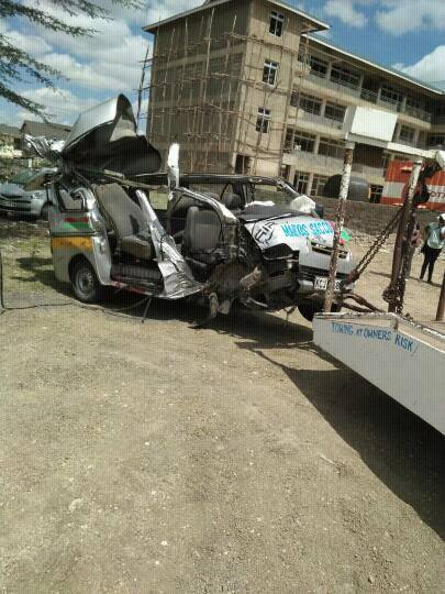 Athi River Accident