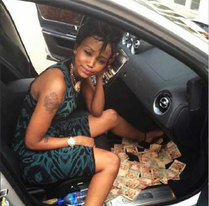huddahcedis200114 427x420 - Photos Of Your Favorite Kenyan Socialites Before The Fame And Money