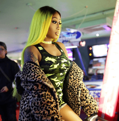 victoria kimani 3 381x385 - Victoria Kimani Teaches You How To Rock That Weave Like A Boss Lady