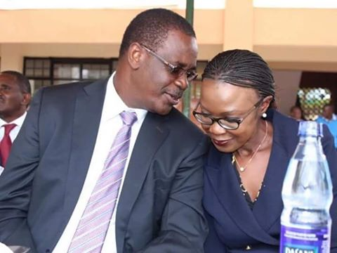Image result for images of Kidero andwife
