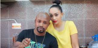 Zari Hassan and Boss Mutoto
