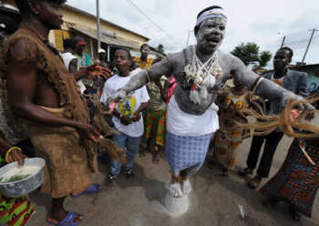 witch 350x248 - Kwale Granny killed for casting spells on residents