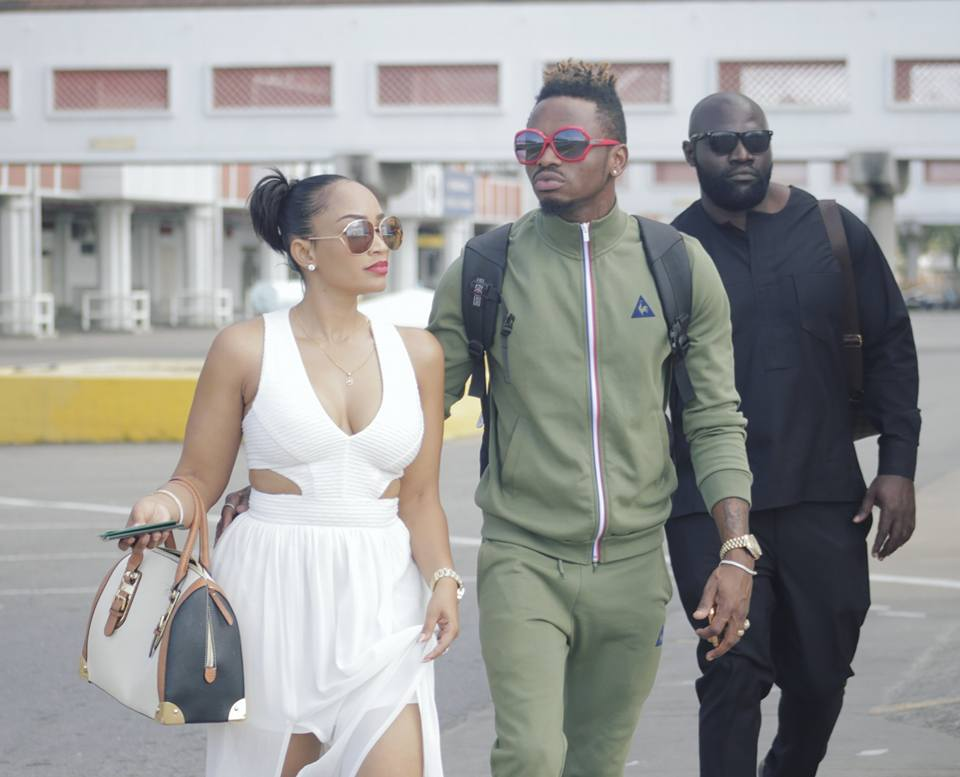 Zari Hassan and Diamond Platnumz