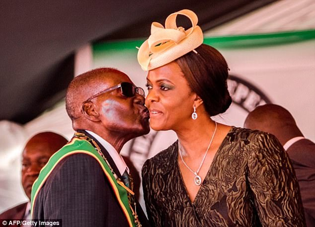 4342EAA000000578 4790876 image a 32 1502756150570 - Dance with the angels! Things you didn't know about Robert Mugabe