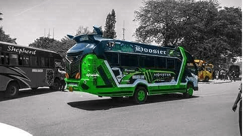 booster  - Hottest Rides In Town! Check Out Nairobi's Trendiest Matatus