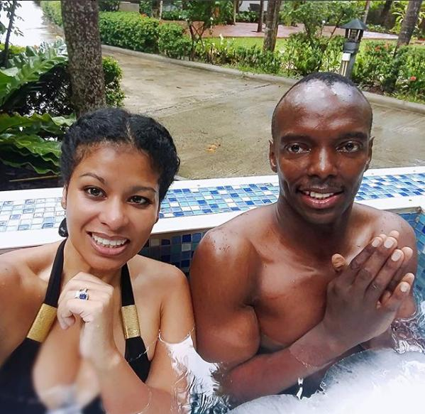 julie gichuru and bae ice bath - 'To the man who changed my life,' Lulu Hassan tells Rashid