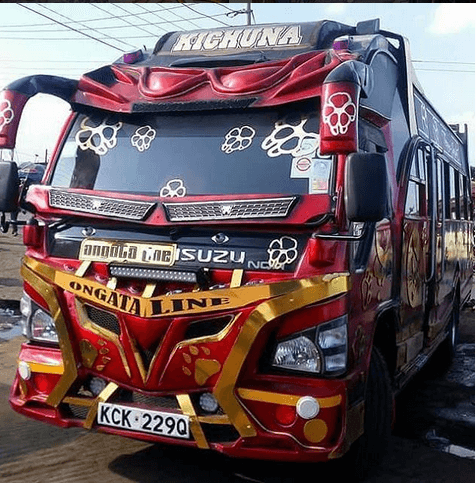 kichuna - Hottest Rides In Town! Check Out Nairobi's Trendiest Matatus