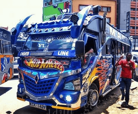 mackbully 1 466x385 - Hottest Rides In Town! Check Out Nairobi's Trendiest Matatus