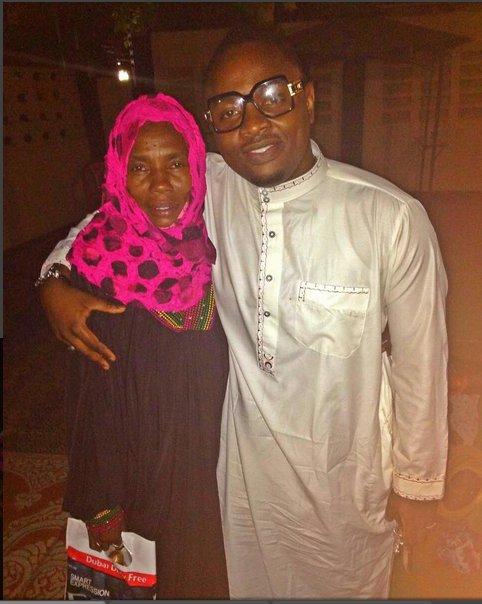 Diamond Platnumz' Mother and Ommy Dimpoz
