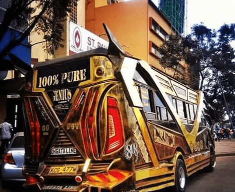 phantom 470x385 - Hottest Rides In Town! Check Out Nairobi's Trendiest Matatus