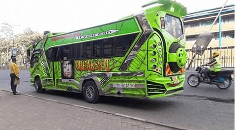 prison break - Hottest Rides In Town! Check Out Nairobi's Trendiest Matatus